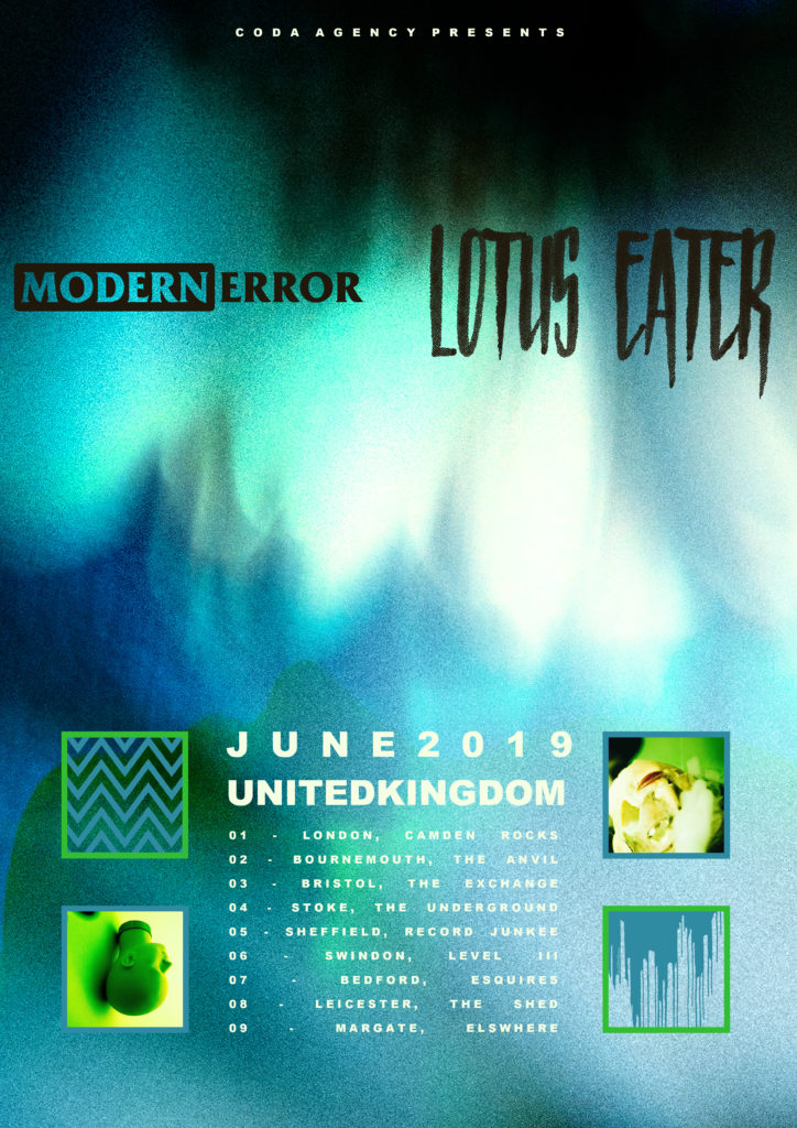 Lotus Eater / Modern Error tour comes to Swindon.