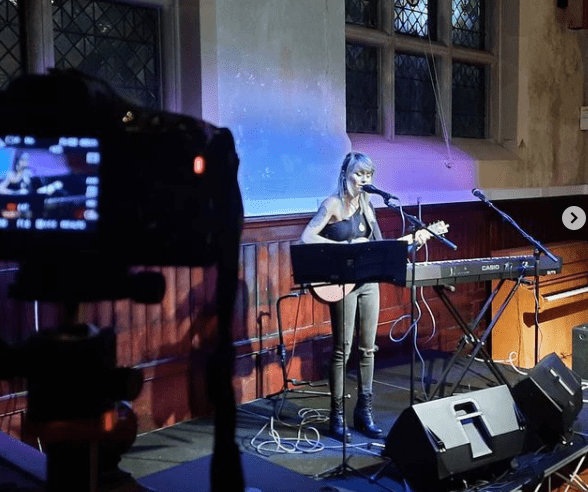 Stevie Nicole live recording for Wiltshire Rural Music.