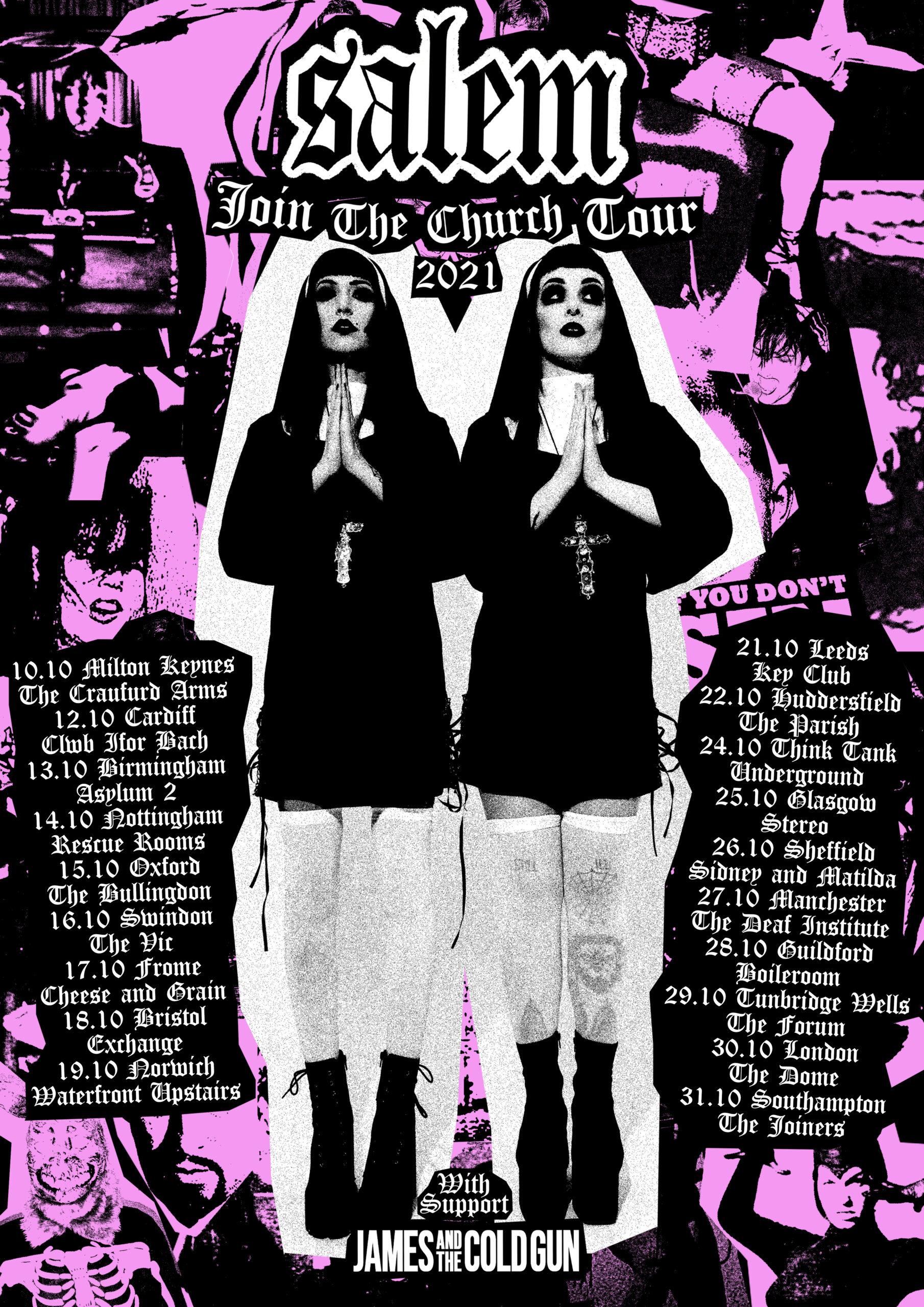 SALEM announce UK tour